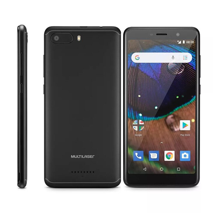 Celular Smartphone Multilaser Ms50x P9074 16gb Preto - Dual Chip