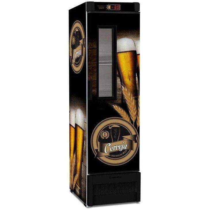 Geladeira/refrigerador 324 Litros 1 Portas Adesivado - Metalfrio - 110v - Vn28fe