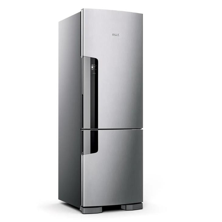 Geladeira/refrigerador 397 Litros 2 Portas Inox - Consul - 220v - Cre44akbna