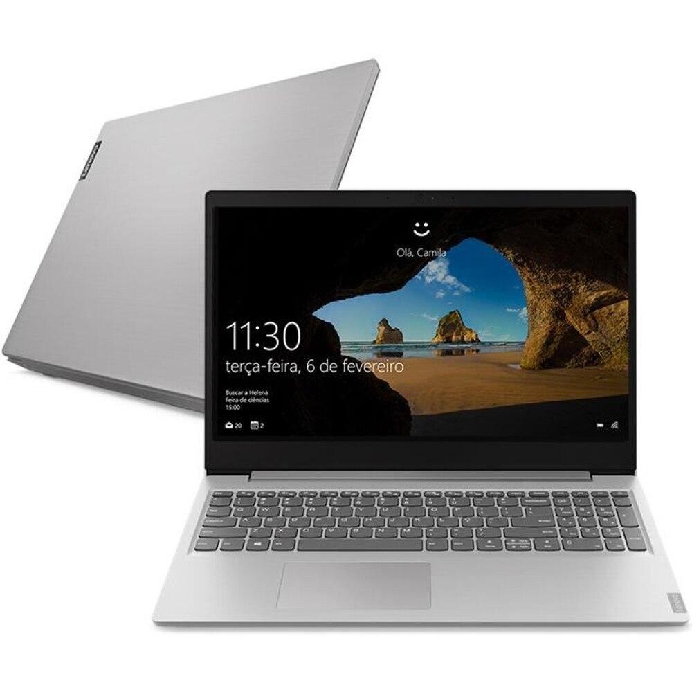 "Notebook - Lenovo 81wt0005br Celeron N4020 1.10ghz 4gb 500gb Padrão Intel Hd Graphics Windows 10 Home Ideapad S145 15,6"" Polegadas"